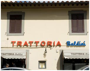 trattoria baldini Firenze